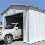 Как покрыть крышу гаража профнастилом?