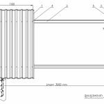 Как устроен забор из профнастила?