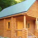 Делаем крышу для бани из профнастила