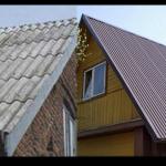 Покрыть крышу шифером или профнастилом?