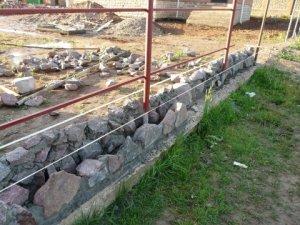 каменный фундамент