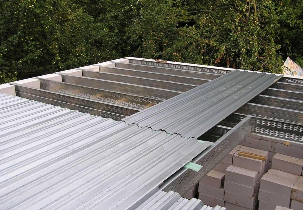 ровная крыша