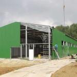 Технология строительства склада из профнастила